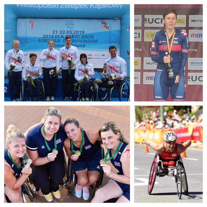 #48) GB's Para-canoeists, Para-triathletes, Para-cycling & Wheelchair Tennis Stars